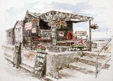 Fish shack No 3 200 x 145 mm
