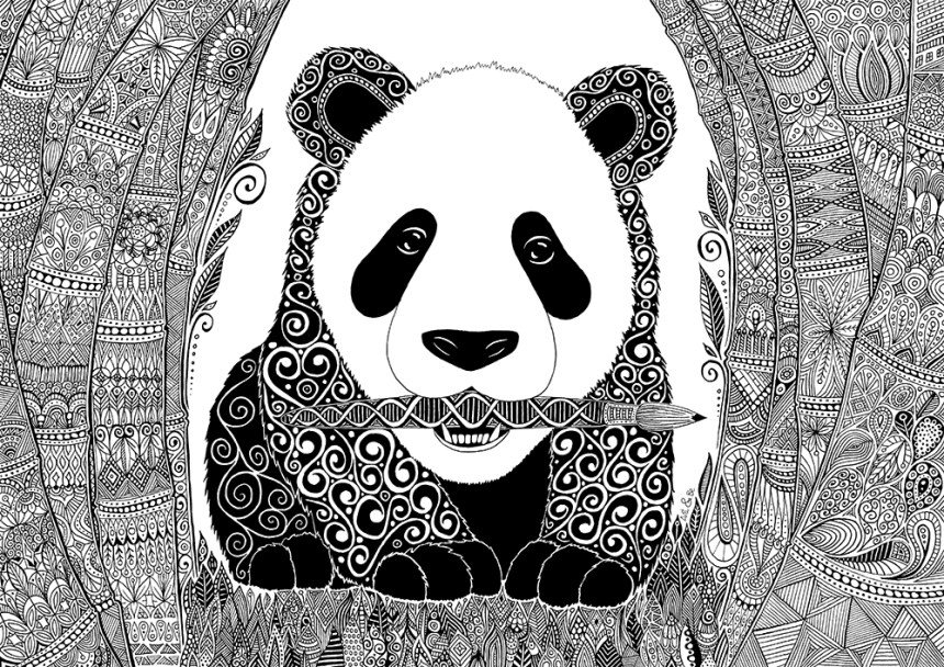 Art & Be - Dessin - Panda