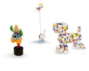 Diverses figurines