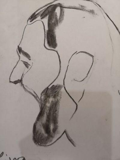 portrét kresba