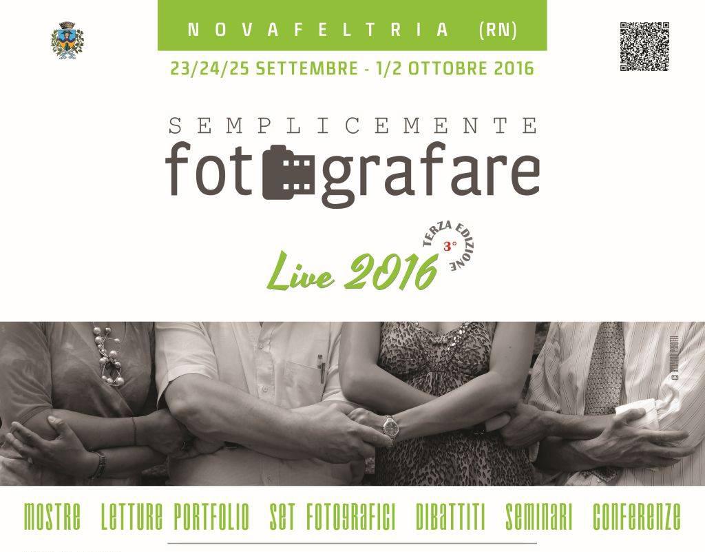 Semplicemente Fotografare Live 2016 a Novafeltria