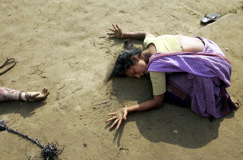 """Storie di fotografie. """"Tsunami, India del sud anno 2004"""""""