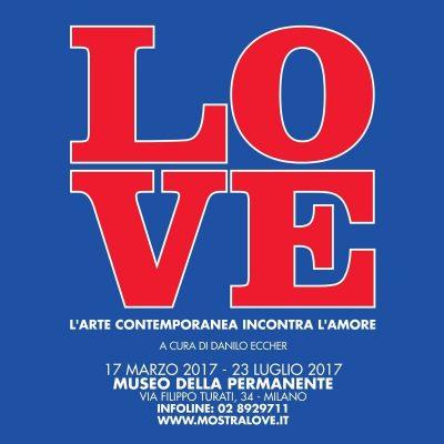 LOVE: l'amore raccontato dall'Arte Contemporanea