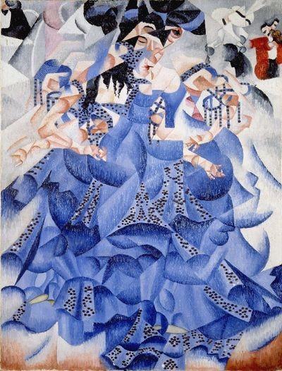 severini-blue dancer 1912