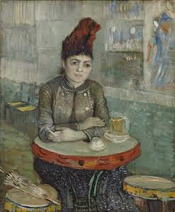 Donna al Cafè Le Tambourin Vincent Van Gogh 1887