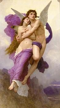 Il rapimento di Psiche William A. Bouguereau 1895