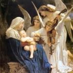 La Madonna e gli Angeli William A. Bouguereau