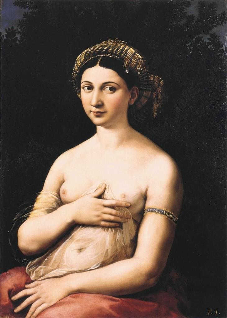 La Fornarina RaffaelloSanzio 1520
