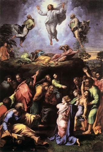 Trasfigurazione Raffaello Sanzio 1517-1520