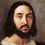 Autoritratto di Raffaello Sanzio all'età di 35 anni