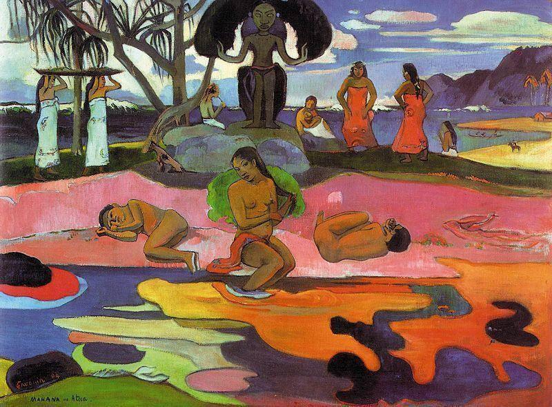 Il giorno di Dio Paul Gauguin 1894