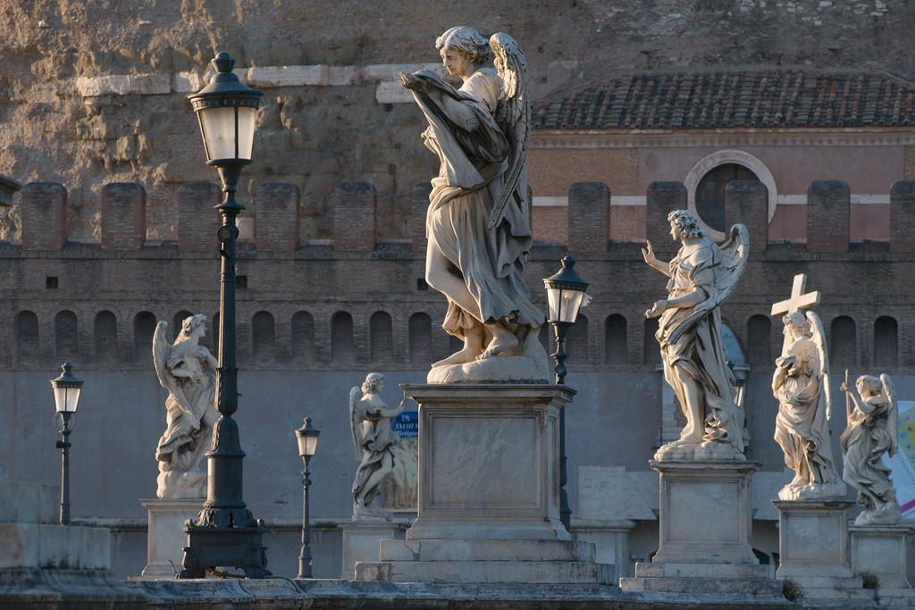 Gli angeli di Ponte Sant'Angelo Progetto di Gian Lorenzo Bernini