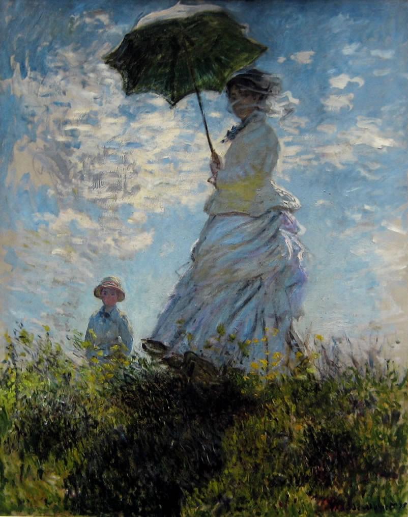 La passeggiata Claude Monet 1875