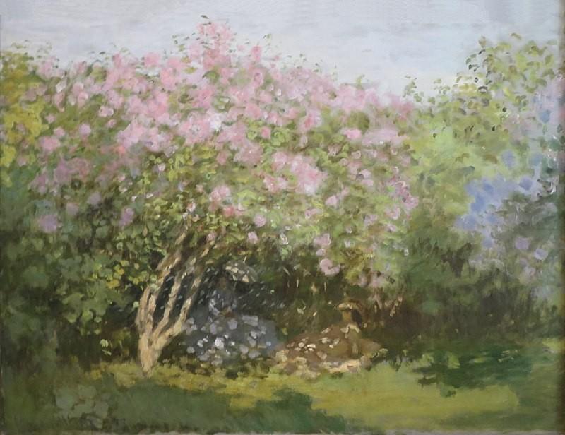 Lillà al sole Claude Monet 1873