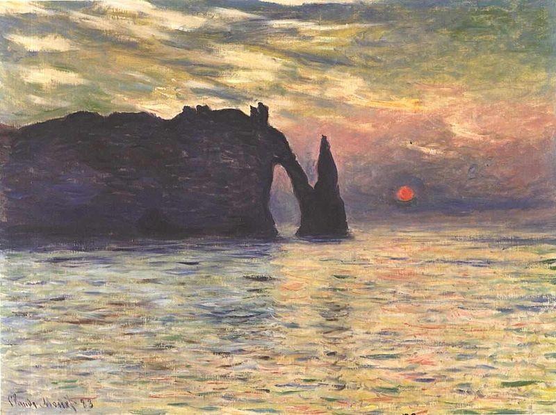 Tramonto Claude Monet 1883