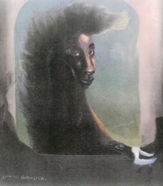 Femme et Oiseau Leonora Carrington 1937