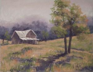 The Homestead by Carolyn Molder Art