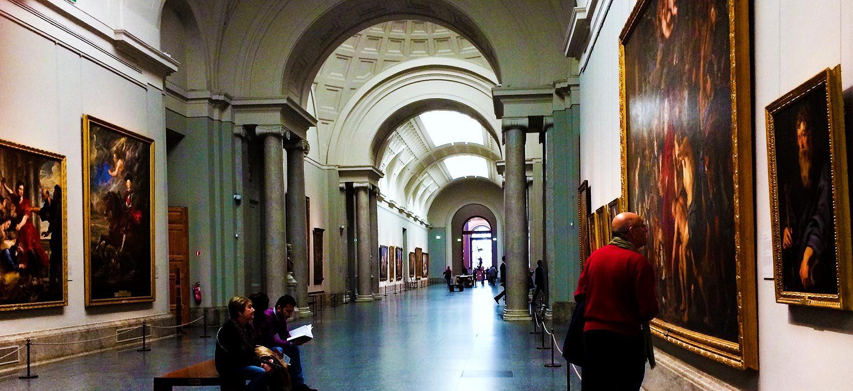 Qué hacer en Madrid el puente de diciembre. Recorrer el Paseo del Arte.