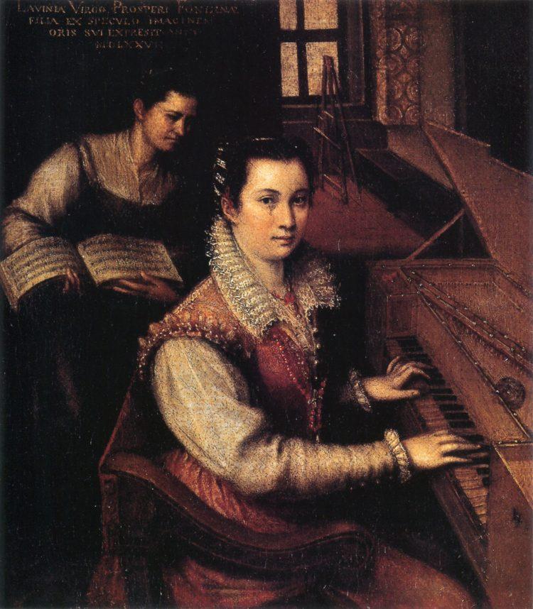 Lavinia Fontana. Pioneras en el Arte