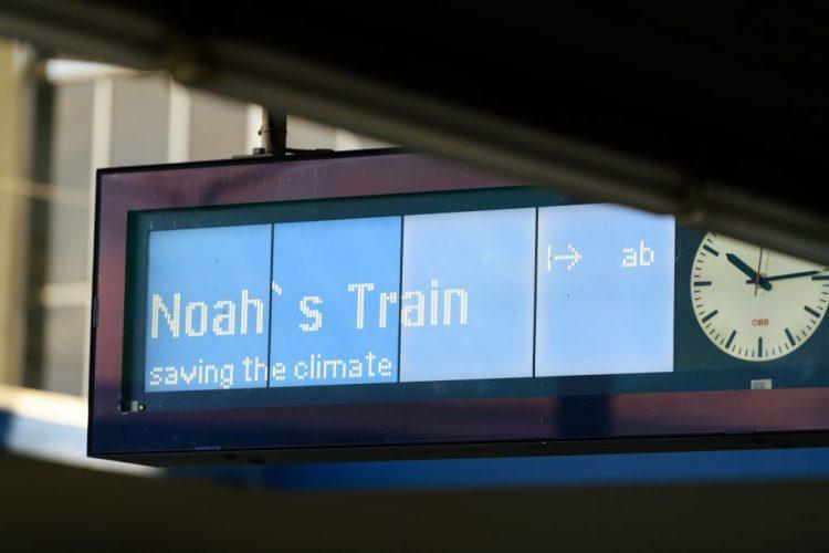 Tren de Noé. En marcha por la salvación del cambio climático.