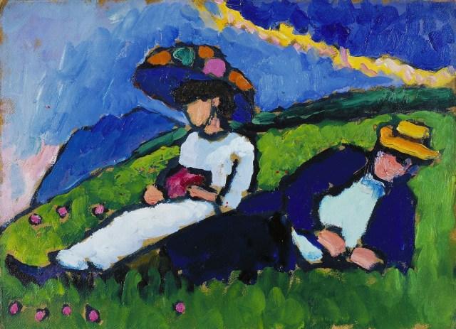 Gabriele Münter, la artista a la sombra de Kandinsky.