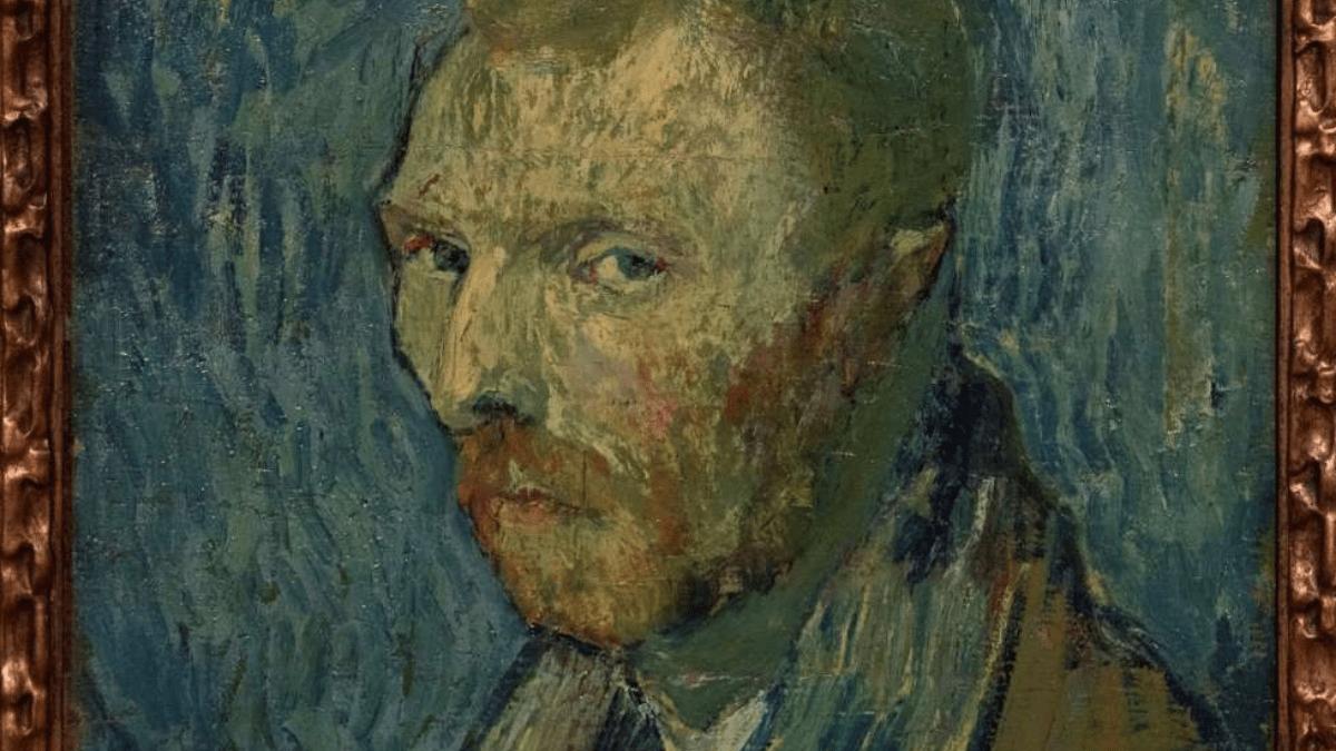 Cuando Van Gogh se miró al espejo y pintó su tristeza. Autorretrato 1889.