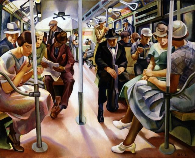Lily Furedi o cuando viajar en Metro es tu inspiración.