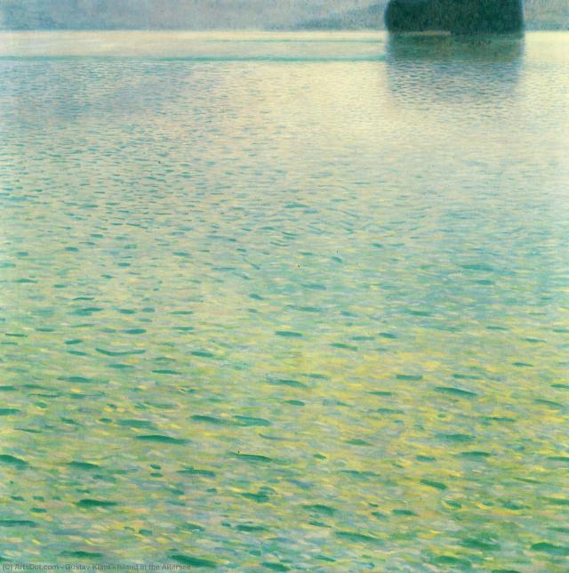 Los paisajes de Gustav Klimt, otra faceta del pintor.