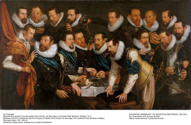 Rembrandt y el retrato en Amsterdam. Exposición virtual.