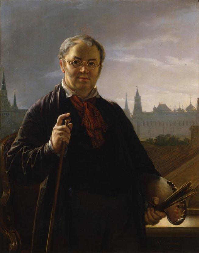 Vasily Tropinin el siervo y artista del arte Romántico ruso.
