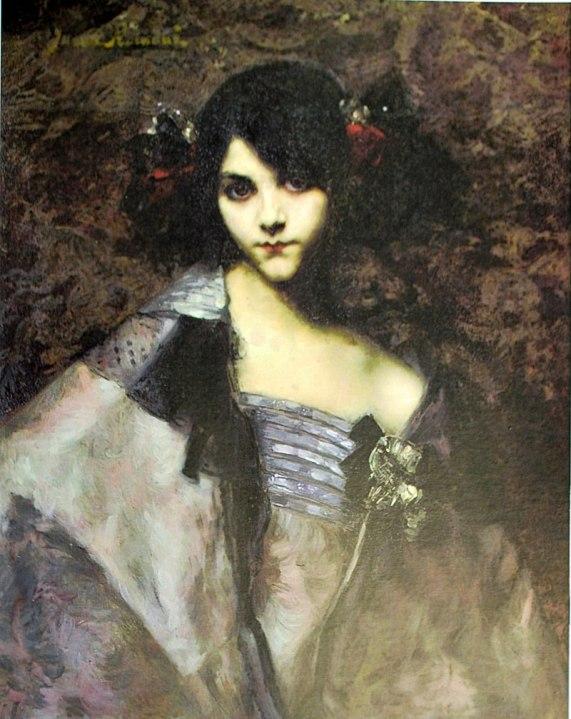 Juana Romani, la Italiana. De modelo, musa y amante a pintora.