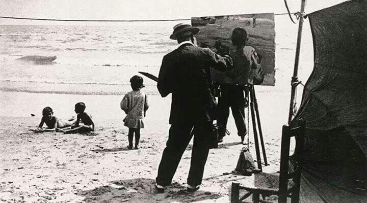 Un viaje al color del mar a través de los ojos de Joaquín Sorolla.