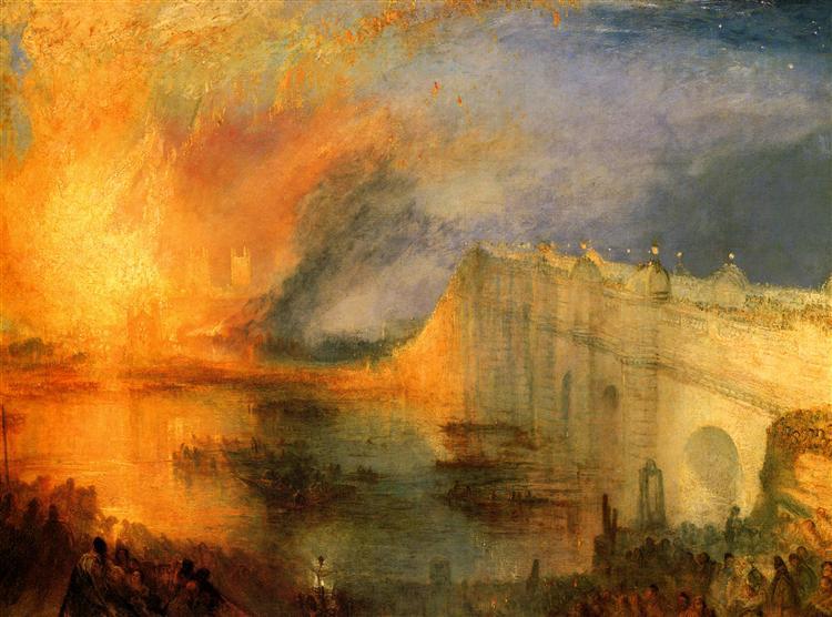 William Turner, el romántico que pintó la naturaleza extrema.