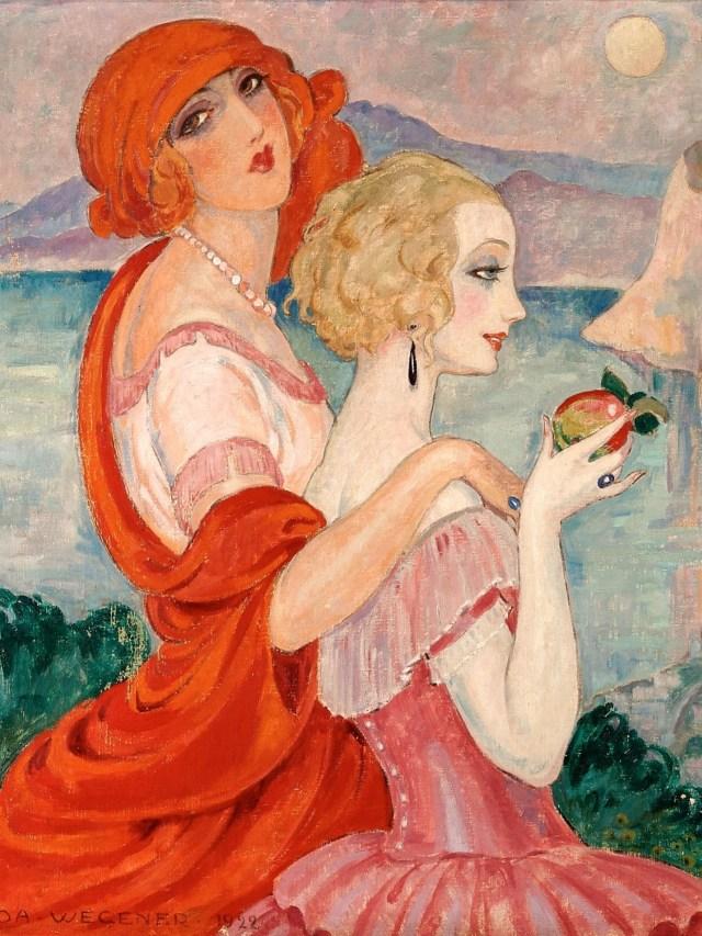 Gerda Wegener, la artista danesa que pintaba a las mujeres.