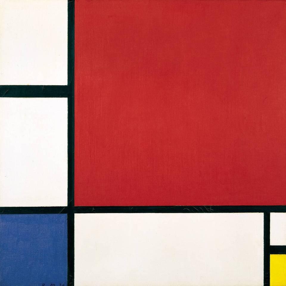 Mondrian y su viaje hacia la abstracción espiritual.