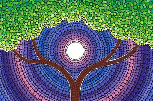 Mandalas, explosiones de color y emociones en la pintura.