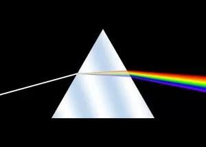 Rayo de luz que se descompone en colores. Que es el color
