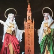 Miguel Farse: Giralda en Iglesia Santa Justa y Rufina de Triana