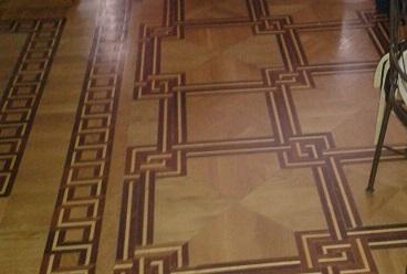 Miguel Farse: suelo de madera en vivienda particular