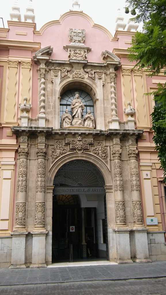 Arquitectura religiosa en Sevilla: Portada Museo de Bellas Artes - Antiguo Convento de la Merced (Foto: Francisco Calvo)