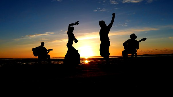 Puesta de sol flamenca (Flamenco en Andalucía)