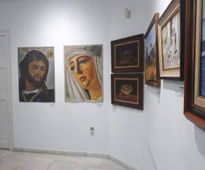 Algunas de sus obras mostradas en Exposición - Reys Perú