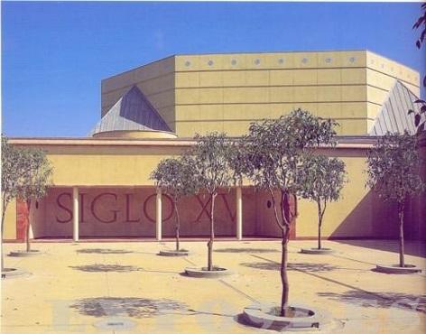 Pabellón del Siglo XV durante la EXPO'92 (Fuente: http://www.expo92.es/pabellon/92-pabellon-del-siglo-xv)