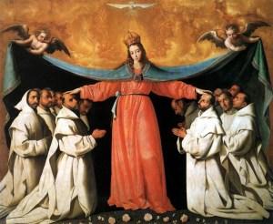 Virgen de las Cuevas - Francisco de Zurbarán - Museo de Bellas Artes de Sevilla