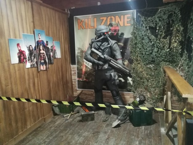 Kill Zone. Figura Museo Fanatic