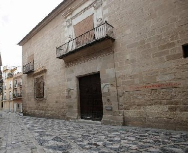 Fachada del Museo Picasso de Mälaga. Salas de exposición y museos de Andalucía. Foto Francisco Calvo