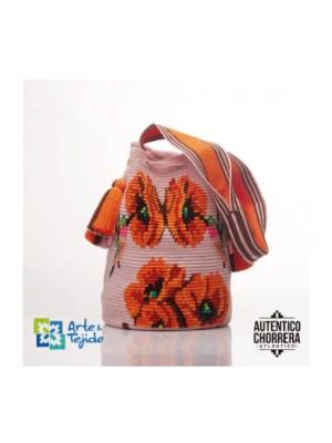 Arte y Tejido, Mochila Alondra, Chorrera, Mochila, Tejida, Knitted, Crochet, Natural Fibers, Algodón, Cotton, Fibras Naturales, Bag, Alondra