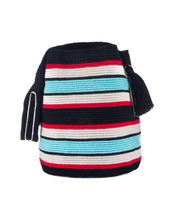 Arte y Tejido, Mochila Amber, Chorrera, Mochila, Tejida, Knitted, Crochet, Natural Fibers, Algodón, Cotton, Fibras Naturales, Bag, Amber