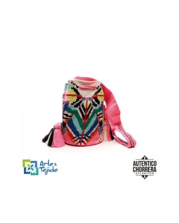 Arte y Tejido, Mochila Anam, Chorrera, Mochila, Tejida, Knitted, Crochet, Natural Fibers, Algodón, Cotton, Fibras Naturales, Bag, Anam