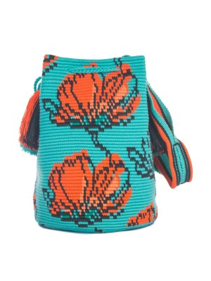 Arte y Tejido, Chorrera, Mochila, Tejida, Knitted, Crochet, Natural Fibers, Algodón, Cotton, Fibras Naturales, Bag, Aromi, Frenesí, Mochila Aromi